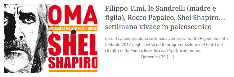 170128-Filippo Timi, le Sandrelli (madre e figlia), Rocco Papaleo, Shel Shapiro..